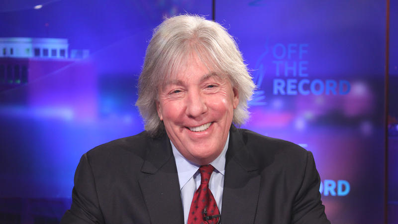 Trial attorney Geoffrey Fieger appearing on Off the Record with Tim Skubick.