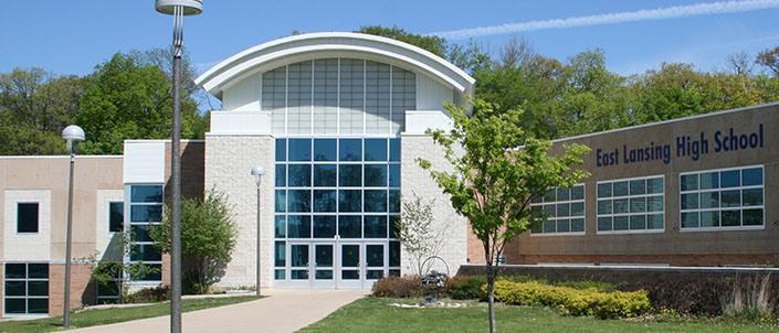 East Lansing High School photo