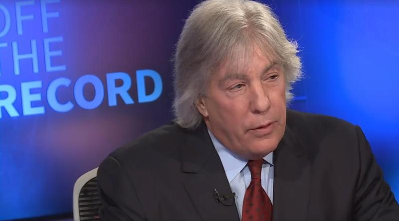 "Attorney Geoffrey Fieger during interview on WKAR-TV's ""Off the Record"""