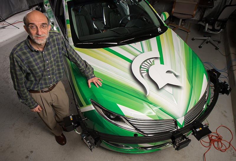 Hayder Radha directs CANVAS at MSU - Connected and Autonomous Networked Vehicles for Active Safety