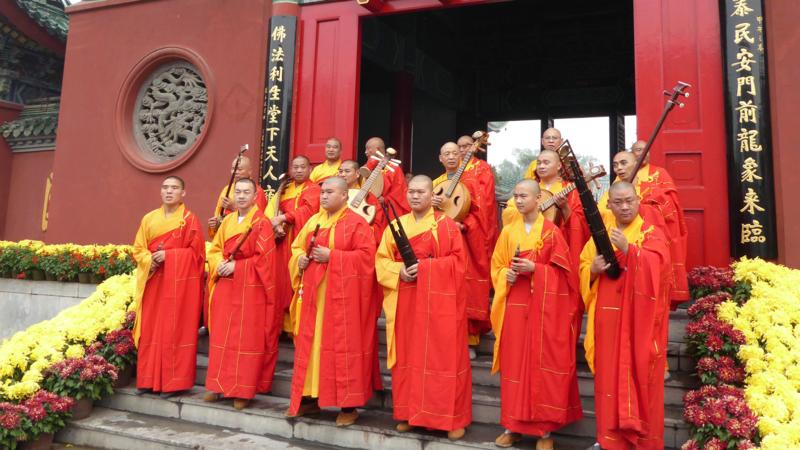 Buddhist orchestra