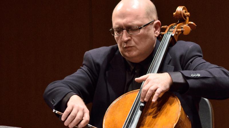 Bagratuni on cello
