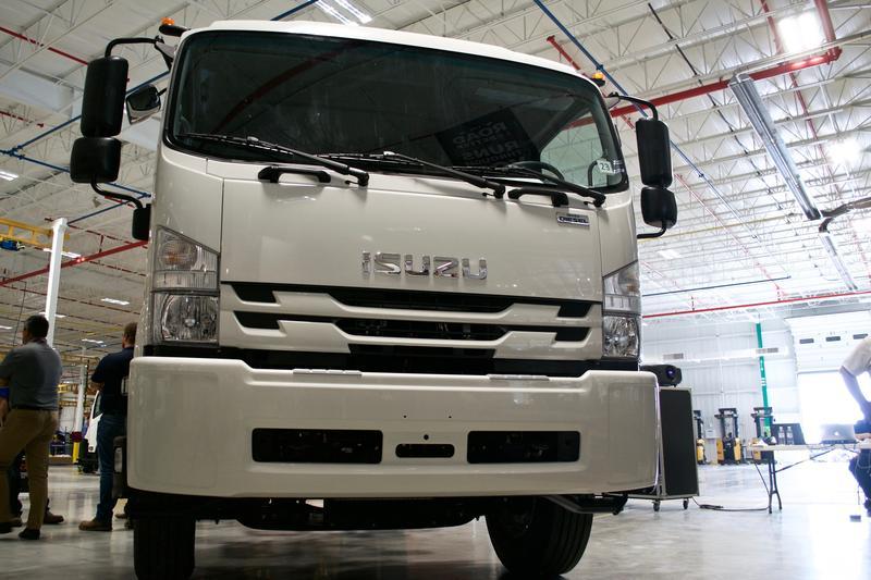 Isuzu's FTR medium-duty series truck.