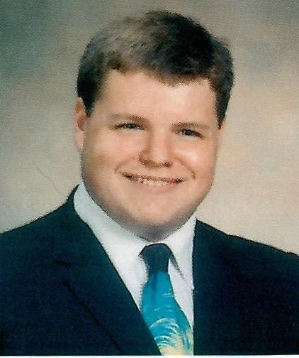 WKAR classical host Jamie Paisley's Senior Class photo.