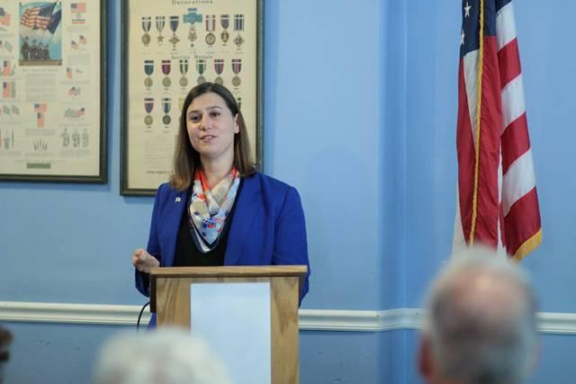 Elissa Slotkin announced her candidacy for the 8th Congressional District Seat.
