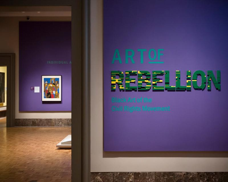 """Art of Rebellion"" debuted at the Detroit Institute of Arts in July 2017."