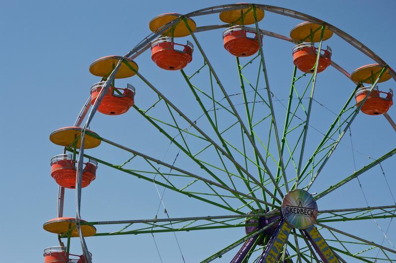 The Ferris Wheel at the Ingham County Fair.