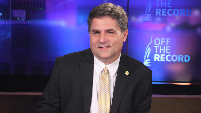 Sen. Patrick Colbeck, (R) Canton appearing on Off the Record with Tim Skubick.