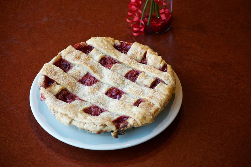 The Vernors Cherry pie sold at Grand Traverse Pie Company