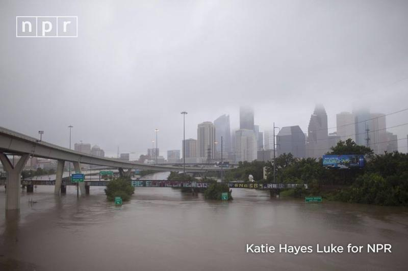 City of Houston, Texas after Hurricane Harvey