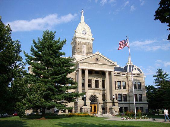 Ingham County Courthouse in Mason