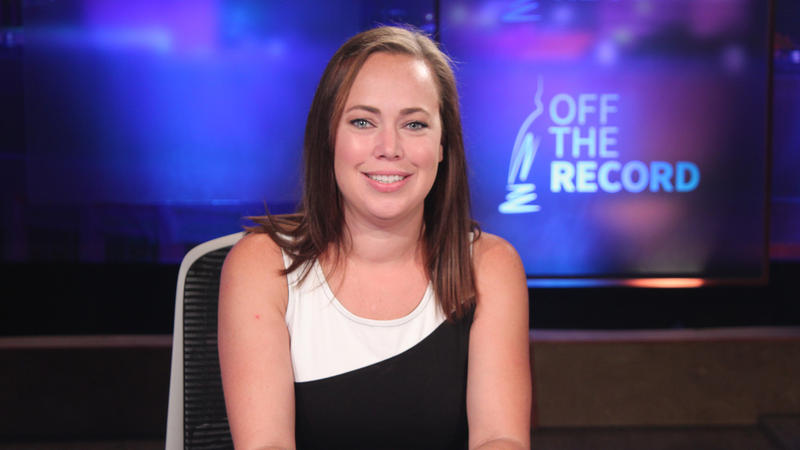Beth Kelly appearing on Off the Record with Tim Skubick.
