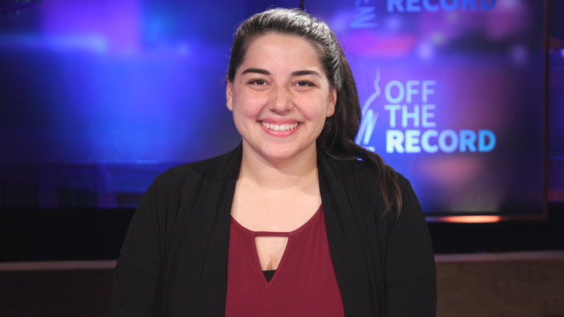 Katie Fahey from Voters Not Politicians appearing on Off the Record with Tim Skubick.