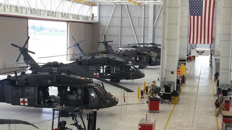 helicopter bay