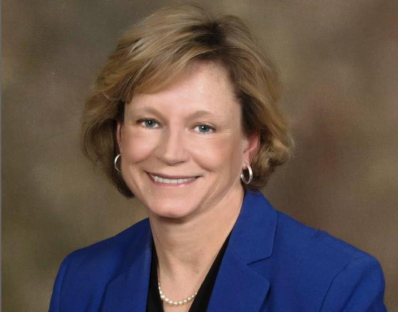 Mayor Sue Leeming of DeWeitt
