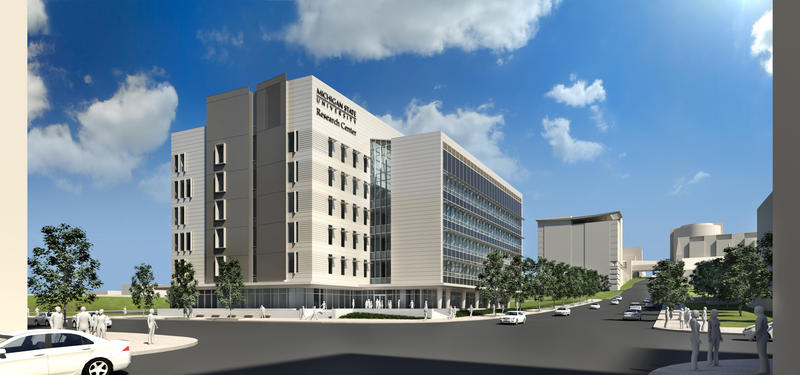 MSU Grand Rapids Research Center artist rendering