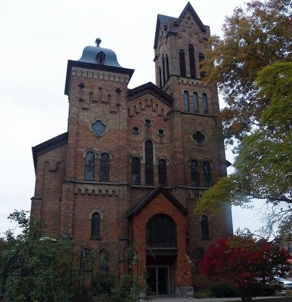 First Congregational Church in Jackson