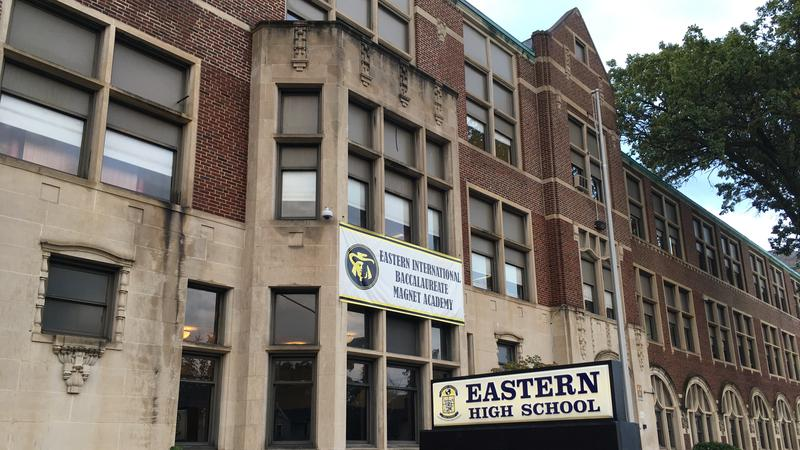 Eastern High School in Lansing