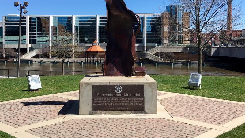 Lansing Remembers September 11th Memorial at Wentworth Park.