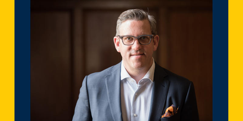 New UMS President Matthew VanBesien
