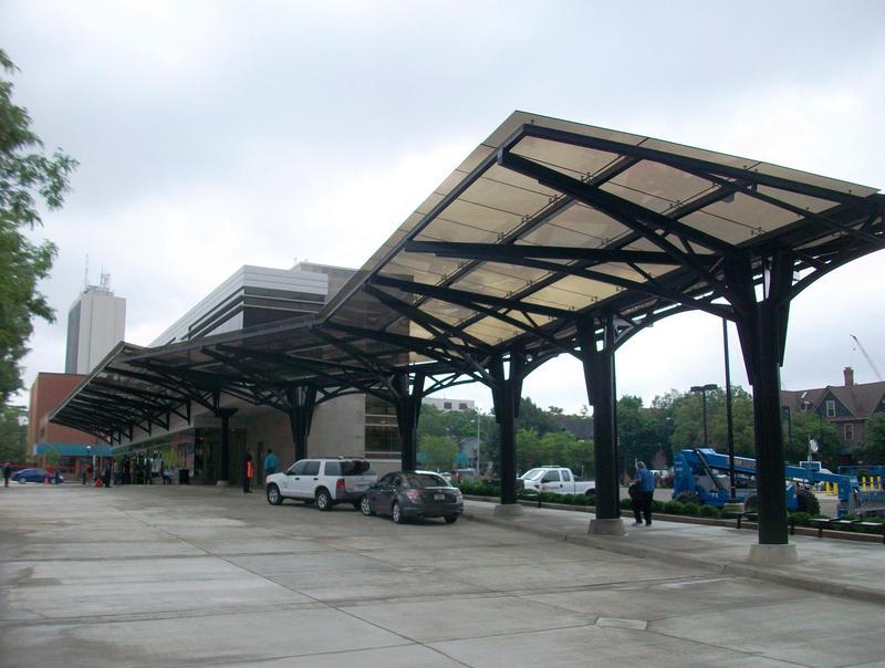 Blake Transit Center in downtown Ann Arbor