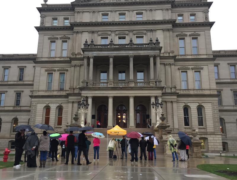 Group rallies at Capitol