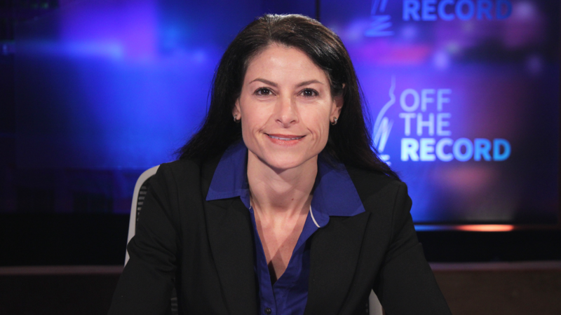 Dana Nessel appearing on Off the Record with Tim Skubick.