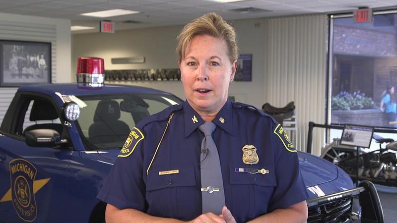 Michigan State Patrol Col. Kriste Kibbey Etue