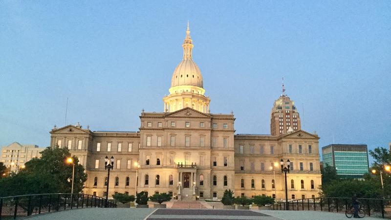 State Capitol in Lansing