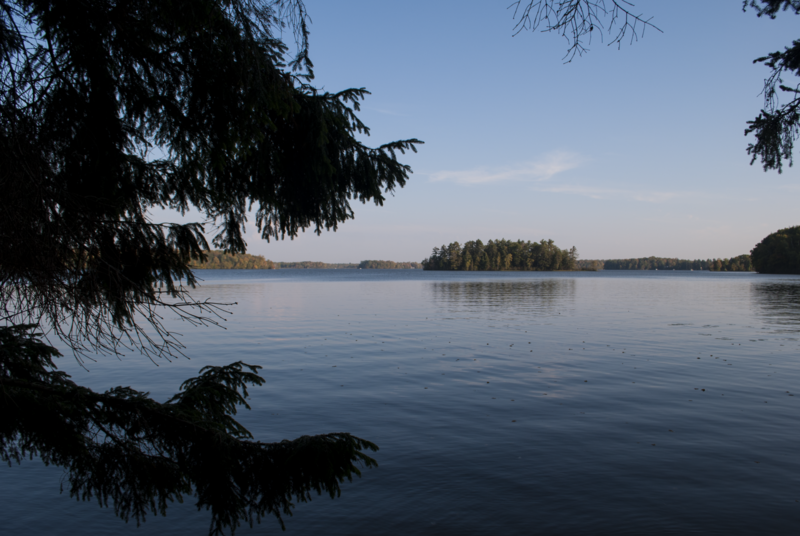 Island in Lake Namekagon