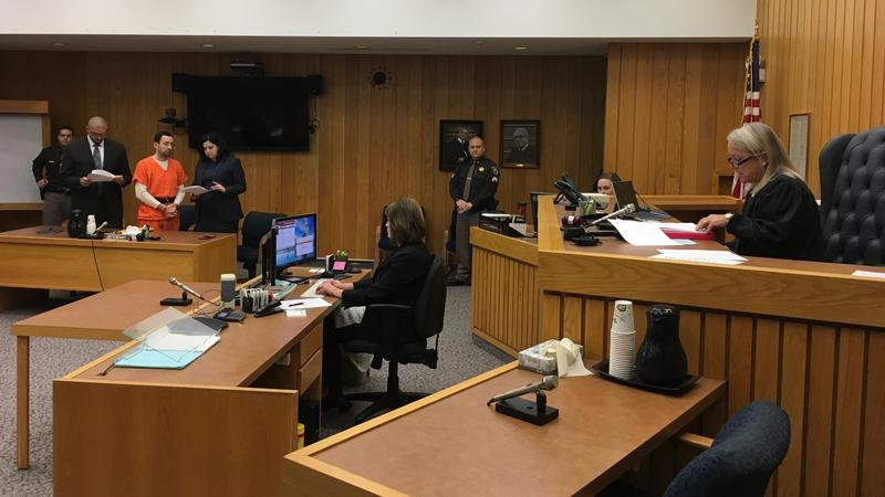 Nassar in Eaton County courtroom photo