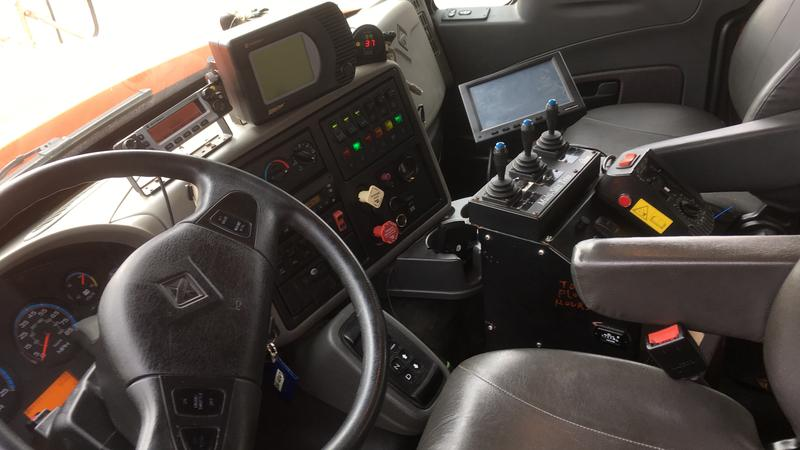 Tow plow control system photo