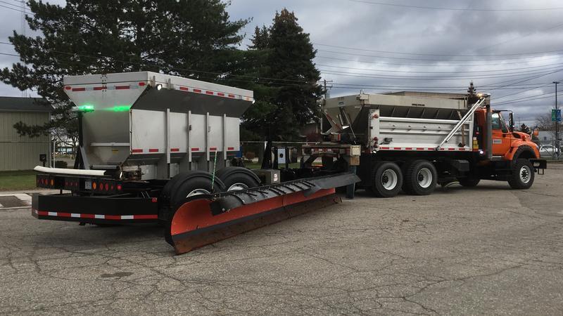 Tow plow photo