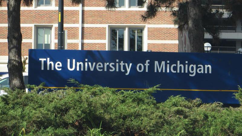 University of Michigan Sign