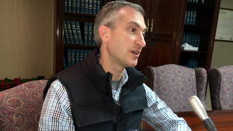 Ann Arbor mayor Christopher Taylor