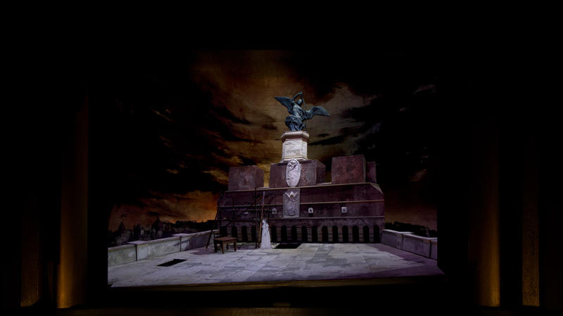 Set model for new production Tosca