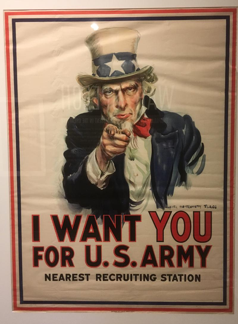 I Want You recruiting poster