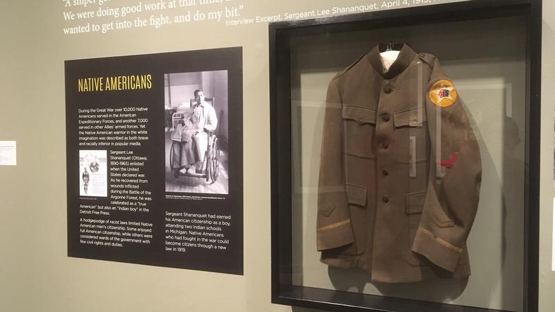 Native American U.S. service jacket