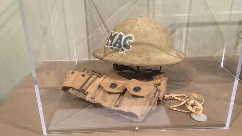 M.A.C WW1 helmet photo