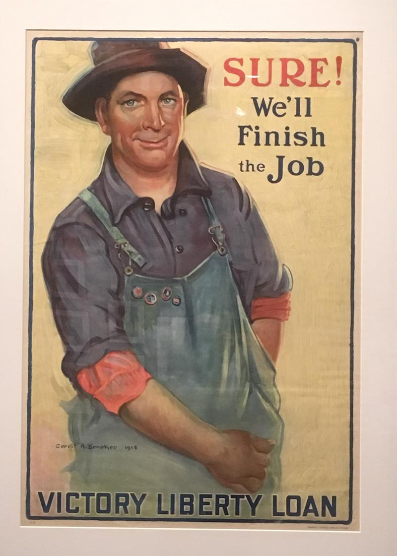 'Sure! We'll Finish the Job!' poster