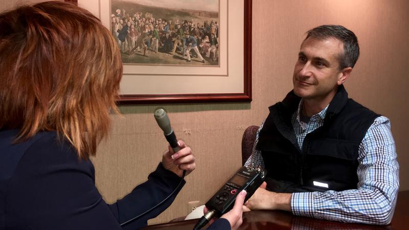 WKAR's Brooke Allen talks with Ann Arbor mayor Christopher Taylor