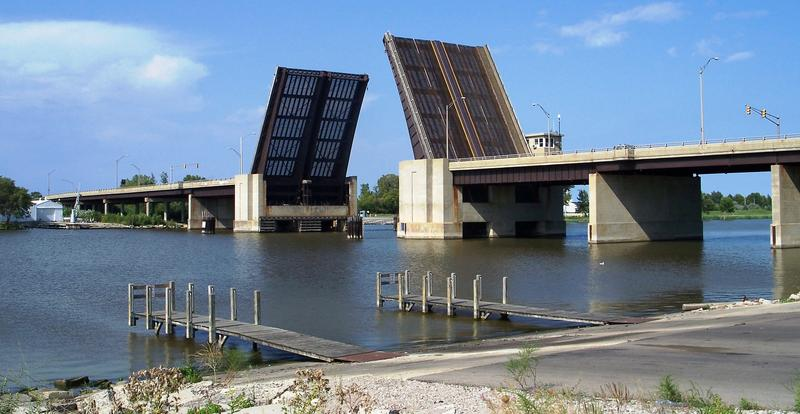 Independence Bridge in Bay City