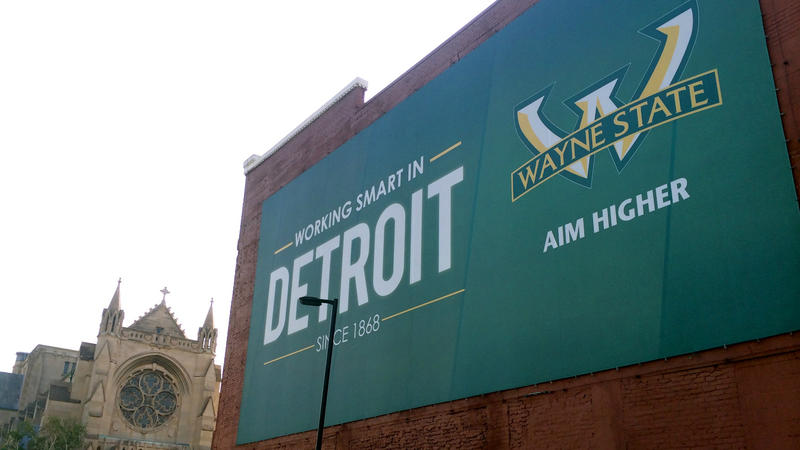 Wayne State Sign