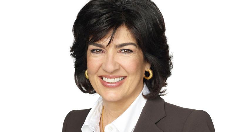 Christiane Amanpour headshot.