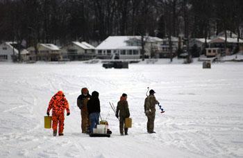 Wkar public media from michigan state university for Ice fishing michigan