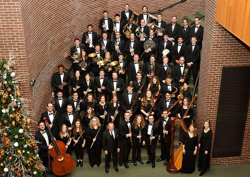 MSU Wind Symphony plays Richard Strauss on this week's MSU In Concert
