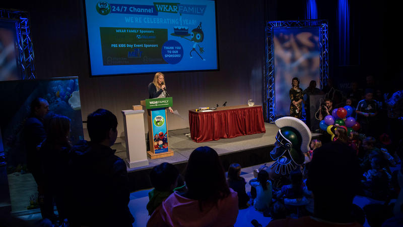 The community celebrates the birthday of WKAR Family and the PBS KIDS 24/7 Channel!