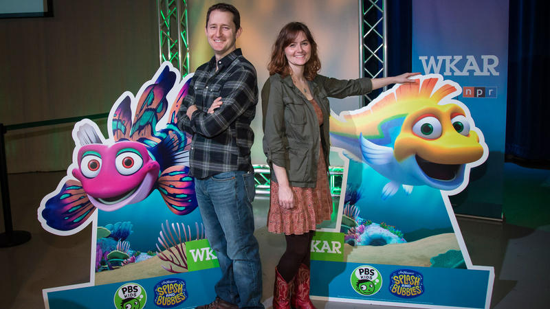 Laura Sams and Rob Sams, Splash and Bubbles and