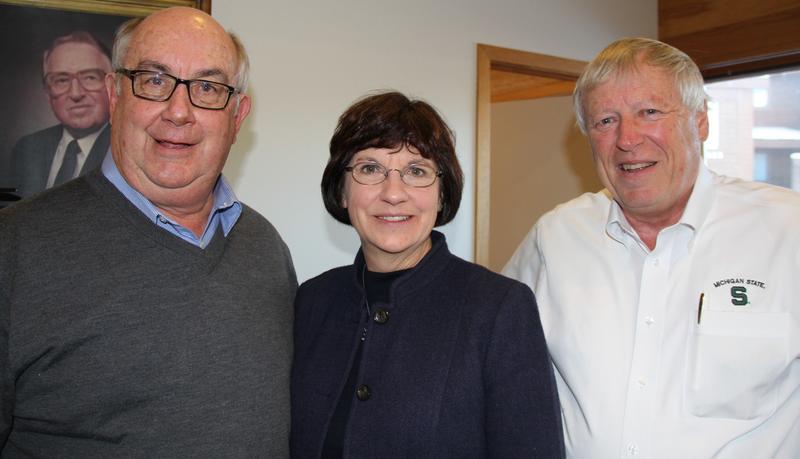 Kirk Heinze, Dianne Byrum, Jim Byrum