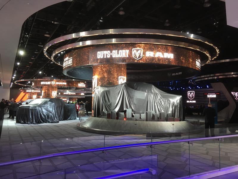 Dodge auto show display photo